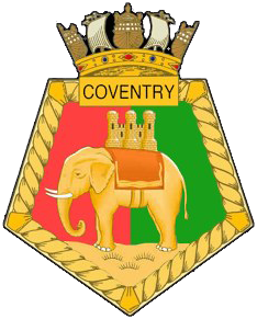 HMS Coventry crest